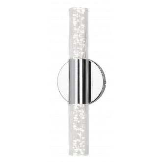 RABALUX 5798 | Aphrodite Rabalux zidna svjetiljka 2x LED 760lm 3000K krom, prozirno