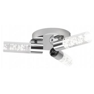 RABALUX 5799 | Aphrodite Rabalux stropne svjetiljke svjetiljka 3x LED 1140lm 3000K krom, prozirno
