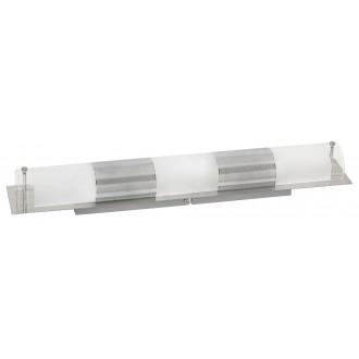RABALUX 5809 | Periodic Rabalux zidna, stropne svjetiljke svjetiljka 3x E14 krom, prozirno, bijelo