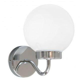 RABALUX 5827 | Togo Rabalux zidna svjetiljka 1x E14 IP44 krom, bijelo