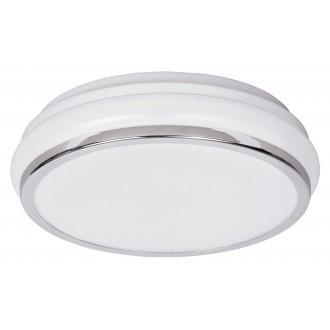 RABALUX 5886 | Christen Rabalux stropne svjetiljke svjetiljka 1x LED 900lm 3500K IP44 krom, bijelo