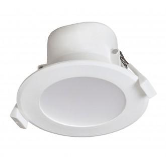 RABALUX 5898 | Christopher Rabalux ugradbena svjetiljka Ø95mm 95x95mm 1x LED 650lm 4000K IP44/20 bijelo