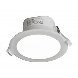 RABALUX 5899 | Christopher Rabalux ugradbena svjetiljka Ø113mm 113x113mm 1x LED 950lm 4000K IP44/20 bijelo