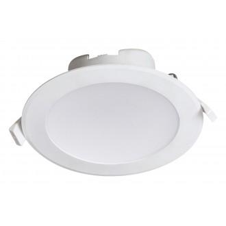 RABALUX 5900 | Christopher Rabalux ugradbena svjetiljka Ø145mm 145x145mm 1x LED 1330lm 4000K IP44/20 bijelo