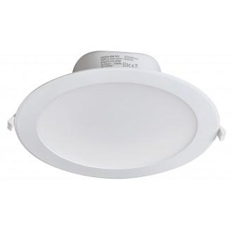 RABALUX 5901 | Christopher Rabalux ugradbena svjetiljka Ø244mm 244x244mm 1x LED 2450lm 4000K IP44/20 bijelo