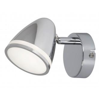 RABALUX 5931 | MartinR Rabalux spot svjetiljka elementi koji se mogu okretati 1x LED 360lm 4000K krom, bijelo
