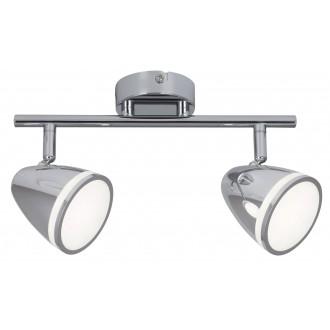 RABALUX 5932 | MartinR Rabalux spot svjetiljka elementi koji se mogu okretati 2x LED 720lm 4000K krom, bijelo