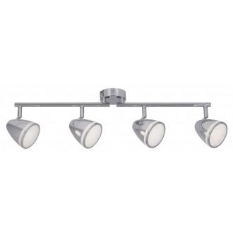RABALUX 5935 | MartinR Rabalux spot svjetiljka elementi koji se mogu okretati 4x LED 1440lm 4000K krom, bijelo