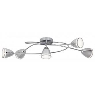RABALUX 5936 | MartinR Rabalux spot svjetiljka 5x LED 1800lm 4000K krom, bijelo