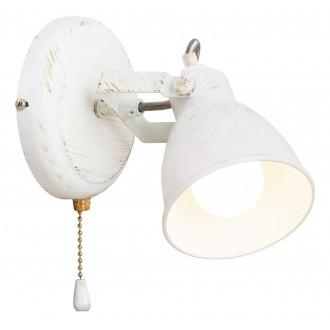 RABALUX 5966 | Vivienne Rabalux spot svjetiljka s poteznim prekidačem elementi koji se mogu okretati 1x E14 antik bijela