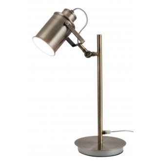 RABALUX 5986 | Peter Rabalux stolna svjetiljka 44,5cm sa prekidačem na kablu elementi koji se mogu okretati 1x E27 antik brončano