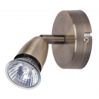RABALUX 5995 | Norman Rabalux spot svjetiljka elementi koji se mogu okretati 1x GU10 bronca
