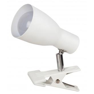 RABALUX 6026 | Rabalux spot svjetiljka sa prekidačem na kablu elementi koji se mogu okretati 1x E27 bijelo