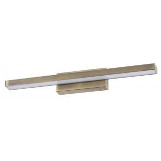 RABALUX 6130 | JohnR Rabalux ovetljenje ogledala svjetiljka 1x LED 1300lm 4000K IP44 bronca, bijelo