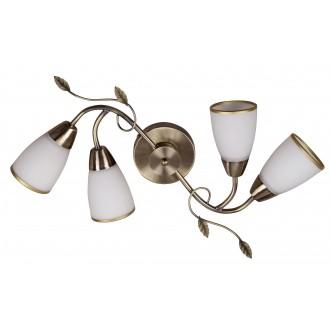 RABALUX 6145   Dreambells Rabalux zidna, stropne svjetiljke svjetiljka 4x E14 bronca, bijelo