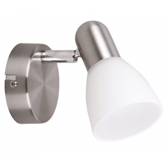 RABALUX 6301 | Soma2 Rabalux spot svjetiljka elementi koji se mogu okretati 1x E14 krom saten, bijelo