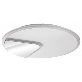 RABALUX 6329 | Boswell Rabalux stropne svjetiljke svjetiljka okrugli 1x LED 2500lm 4000K bijelo, krom, zrcalo