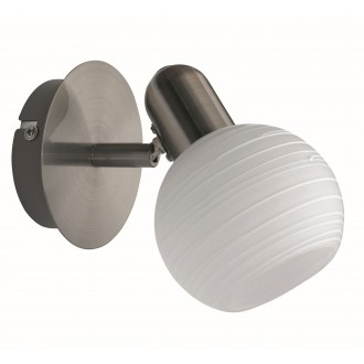 RABALUX 6341 | Aurel Rabalux spot svjetiljka elementi koji se mogu okretati 1x E14 kromni mat, bijelo