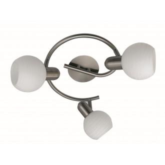 RABALUX 6343 | Aurel Rabalux spot svjetiljka elementi koji se mogu okretati 3x E14 kromni mat, bijelo