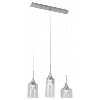 RABALUX 6350 | Candice Rabalux visilice svjetiljka 1x LED 1200lm 4000K krom, prozirno