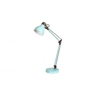 RABALUX 6409 | Carter-RA Rabalux stolna svjetiljka 58cm s prekidačem elementi koji se mogu okretati 1x E14 menta, smeđe