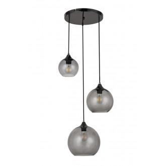 RABALUX 6439 | Tanesha Rabalux visilice svjetiljka 3x E27 crno, dim
