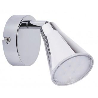 RABALUX 6457 | Fiona Rabalux zidna, stropne svjetiljke svjetiljka elementi koji se mogu okretati 1x LED 400lm 3000K krom