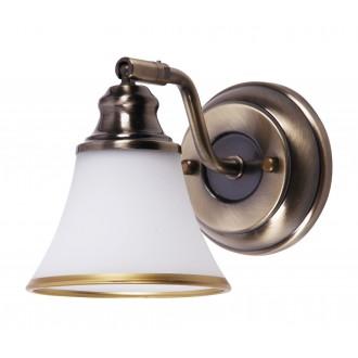 RABALUX 6545 | Grando Rabalux zidna svjetiljka elementi koji se mogu okretati 1x E14 / R50 bronca, bijelo