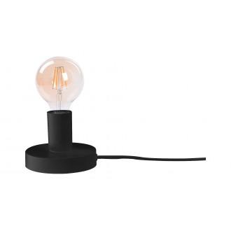 RABALUX 6569 | Bowie Rabalux stolna svjetiljka 9,5cm sa prekidačem na kablu 1x E27 crno