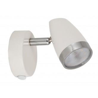 RABALUX 6666   Karen Rabalux spot svjetiljka s prekidačem elementi koji se mogu okretati 1x LED 280lm 3000K bijelo, krom, prozirno