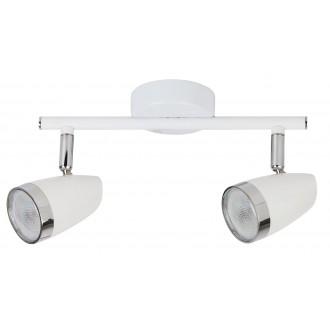 RABALUX 6667 | Karen Rabalux spot svjetiljka elementi koji se mogu okretati 2x LED 560lm 3000K bijelo, krom, prozirno