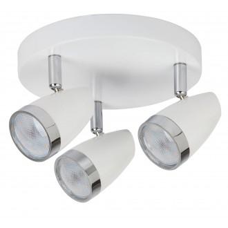 RABALUX 6668   Karen Rabalux spot svjetiljka elementi koji se mogu okretati 3x LED 840lm 3000K bijelo, krom, prozirno