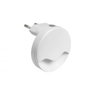 RABALUX 6709 | Lily-RA Rabalux noćno svjetlo svjetiljka svjetlosni senzor - sumračni prekidač utična svjetiljka 1x LED 15lm 3000K bijelo