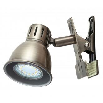 RABALUX 6718 | Ralph Rabalux spot svjetiljka sa prekidačem na kablu elementi koji se mogu okretati 1x GU10 bronca
