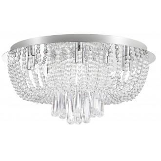 RABALUX 6806 | Larisha Rabalux stropne svjetiljke svjetiljka 6x G9 krom, kristal