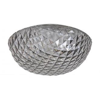 RABALUX 6967 | Jillian Rabalux stropne svjetiljke svjetiljka okrugli 1x LED 2400lm 3000K bijelo, dim, kristal