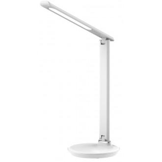 RABALUX 6979 | Osias Rabalux stolna svjetiljka 39,1cm sa tiristorski dodirnim prekidačem jačina svjetlosti se može podešavati, sa podešavanjem temperature boje 1x LED 400lm 2700 <-> 6500K bijelo
