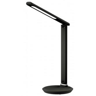 RABALUX 6980 | Osias Rabalux stolna svjetiljka 39,1cm sa tiristorski dodirnim prekidačem jačina svjetlosti se može podešavati, sa podešavanjem temperature boje 1x LED 400lm 2700 <-> 6500K crno
