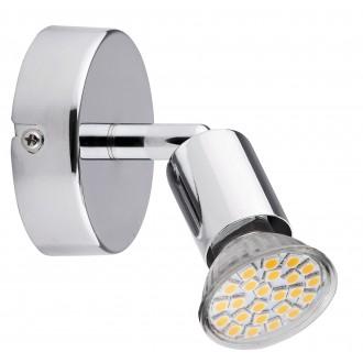 RABALUX 6986   Norton Rabalux spot svjetiljka izvori svjetlosti koji se mogu okretati 1x GU10 220lm 3000K krom
