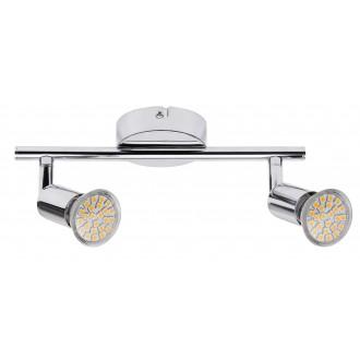 RABALUX 6987   Norton Rabalux spot svjetiljka izvori svjetlosti koji se mogu okretati 2x GU10 440lm 3000K krom