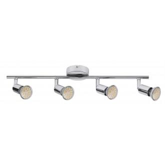RABALUX 6988   Norton Rabalux spot svjetiljka izvori svjetlosti koji se mogu okretati 4x GU10 880lm 3000K krom
