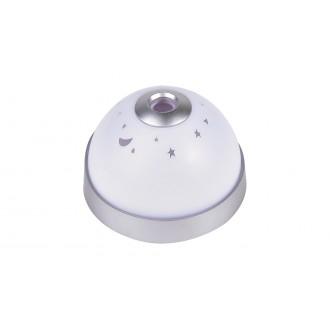 RABALUX 6990 | Lupe Rabalux dekoracija svjetiljka 1x LED 30lm RGBK bijelo