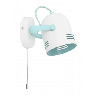 RABALUX 7012 | Minuet Rabalux spot svjetiljka elementi koji se mogu okretati 1x E14 bijelo, menta