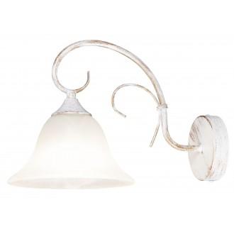 RABALUX 7186   Katherine Rabalux zidna svjetiljka 1x E27 antik bijela, alabaster