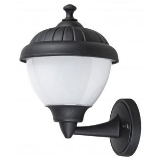 RABALUX 7672 | Modesto_RA Rabalux zidna svjetiljka 1x E27 IP44 UV crno, bijelo