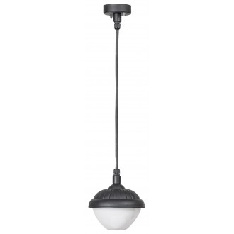 RABALUX 7674 | Modesto_RA Rabalux visilice svjetiljka 1x E27 IP44 UV crno, bijelo