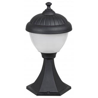 RABALUX 7675 | Modesto_RA Rabalux podna svjetiljka 33cm 1x E27 IP44 UV crno, bijelo