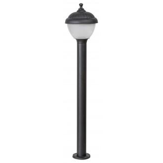 RABALUX 7676 | Modesto_RA Rabalux podna svjetiljka 80cm 1x E27 IP44 UV crno, bijelo