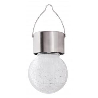 RABALUX 7850 | Yola-RA Rabalux ambient osvetljenje svjetiljka solarna baterija, promjenjive boje 1x LED RGBK IP44 krom saten
