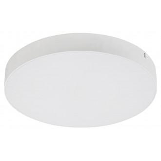 RABALUX 7894 | Tartu Rabalux stropne svjetiljke svjetiljka okrugli sa podešavanjem temperature boje 1x LED 2500lm 2800 - 4000 - 6000K IP44 bijelo mat, bijelo